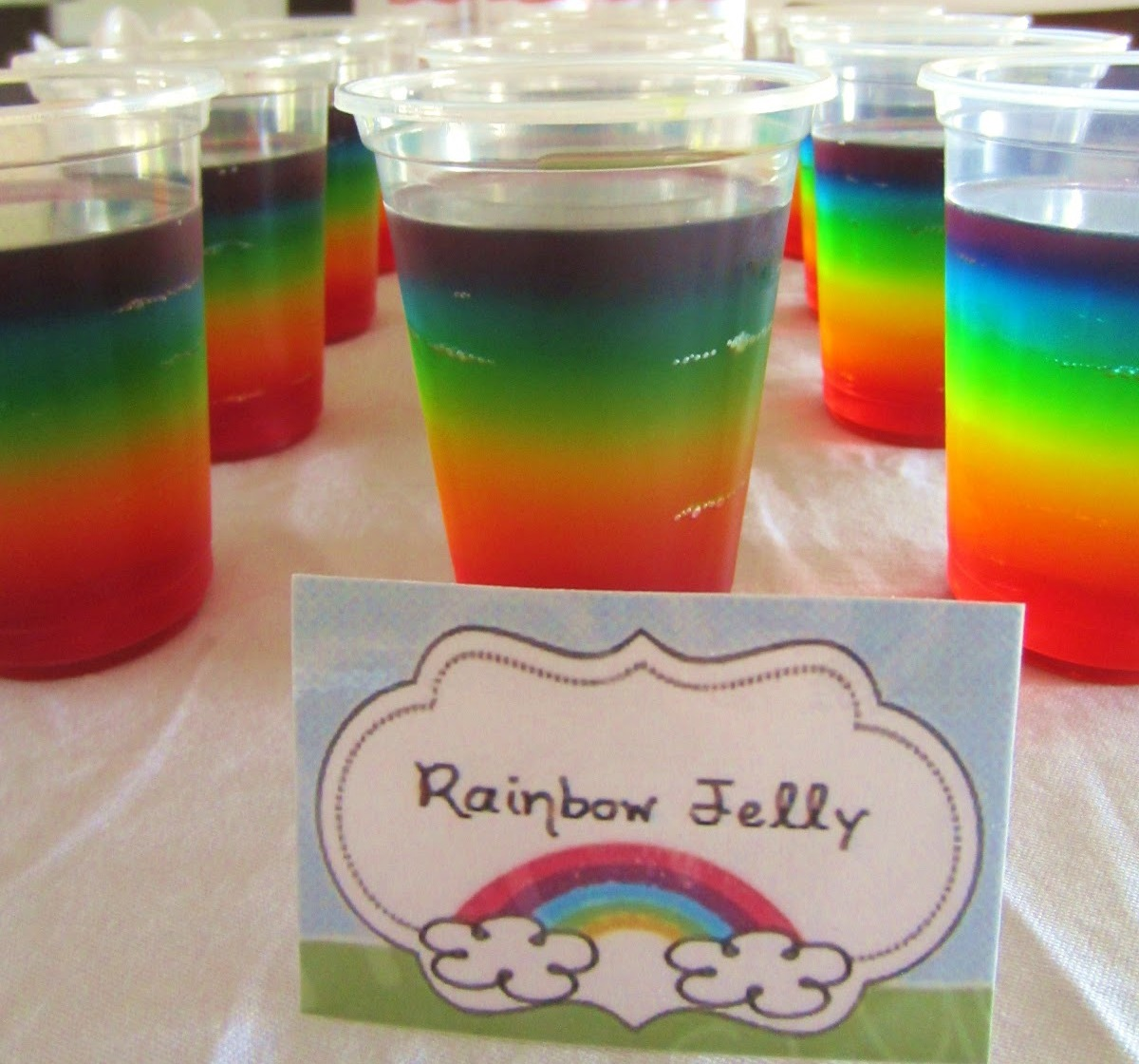 Diy Rainbow Themed Party At Home Polka Dot Celebrations